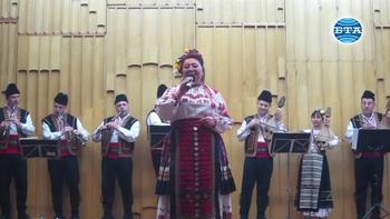 Северняшкият ансамбъл представи юбилеен концерт на народната певица Елка Петкова