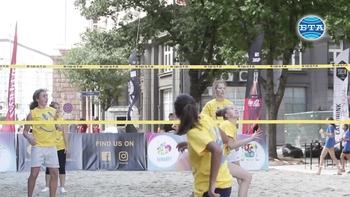 """Плажен волейбол на бул. """"Дондуков"""""""