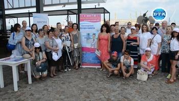 Благотворителен плувен маратон от остров Света Анастасия до плажа Чукалята