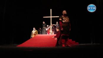 """Великотърновският театър представя премиерно """"Йоан, синът на Асен"""" утре вечер"""