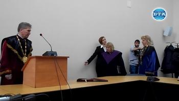 """ЮЗУ удостои проф. д-р Лилия Илиева със званието """"Почетен професор"""""""
