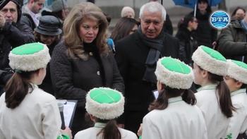 Вицепрезидентът Илияна Йотова: Левски не е за политическа употреба