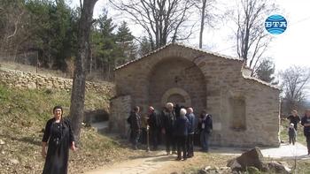 """Възстановена е сградата на манастира """"Св. четиридесет мъченици"""" в трънското село Лева река"""