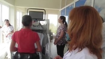 В Плевен уникален уред, разработка на НАСА, помага за възстановяване движението на краката