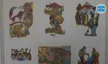 Изложба с детски илюстрации на Румен Скорчев и Росица Скорчева гостува в Добрич