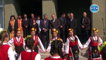 Президентът Румен Радев гостува на община Тунджа