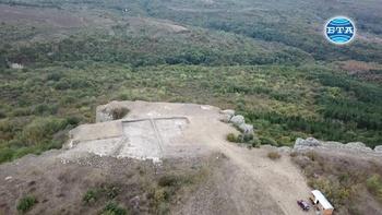Половината от укрепителната система на праисторическото селище Аврен - Бобата е разкрита