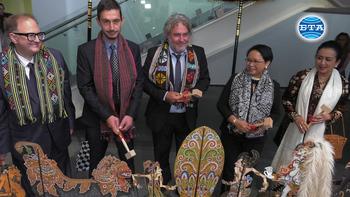 Индонезийска представителна колекция бе официално открита в Национална галерия - Квадрат 500