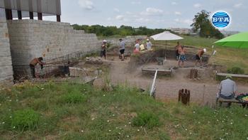 Археологически проучвания в късноантичния град Абритус