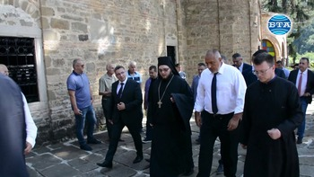 Премиерът Бойко Борисов посети Троянския манастир по случай храмовия празник на Светата обител