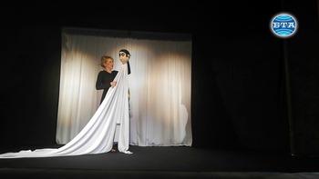 """Моноспектакълът """"Комедиантката"""" с Мая Бежанска премиерно на сцената на Държавен куклен театър - Сливен"""