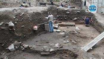 Нови археологически находки в центъра на Пловдив