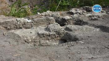 Нов сектор от западната крепостна стена на антична Бонония, керамични лули и монети са открити при археологически разкопки във Видин