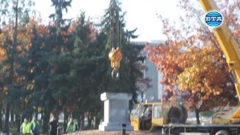 Поставиха рестврирания лъв от Мемориала на Първи и Шести пехотен полк
