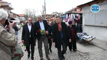 "Посланици на Швейцария от седем балкански държави посетиха детска градина в квартал ""Столипиново"""