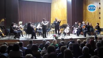 Блестящ концерт на Веско Ешкенази и Мартин Пантелеев с Плевенската филхармония.