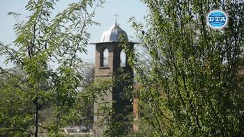"""Църквата """"Свети Димитър"""" в село Светлина бе изцяло обновена за своята 150-годишнина"""