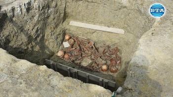 Масов гроб от преди повече от шест хиляди години изследват археолозите в Солницата край Провадия