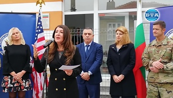 Американският посланик Херо Мустафа откри в Сливен Защитено жилище