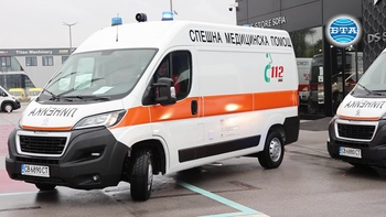 Центрове за спешна медицинска помощ получиха нови линейки