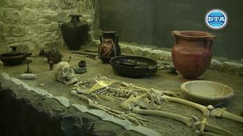 Гроб на тракийски владетел продължава да крие тайни