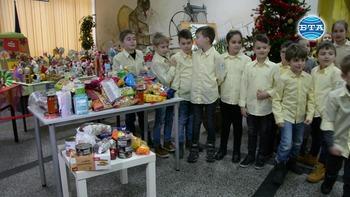 Ученици от Русе събират хранителни продукти за приютите на отец Иван