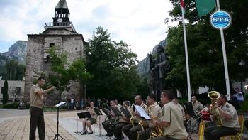 Враца бе домакин на Фестивала на военните духови оркестри