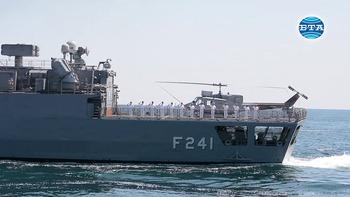 """Премиерът Бойко Борисов наблюдава военноморското учение """"Бриз 2019"""""""