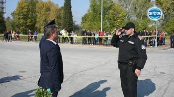Демострации за престоящия празник на полицията в Пловдив