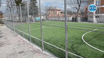 """Откриха нов спортен комплекс във варненския квартал """"Галата"""""""