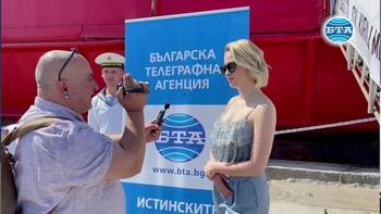 """Мария Бакалова би пътувала до Антарктида с кораба """"Св. Св. Кирил и Методий"""""""