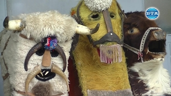Кукерски празник в село Джинот