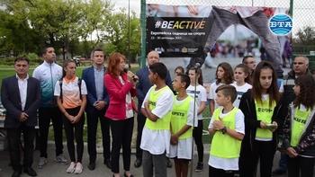 Министър Кралев откри Европейската седмица на спорта в Стара Загора