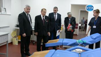 """Откриха новото отделение по трансфузионна хематология в Университетска болница """"Канев"""" в Русе"""