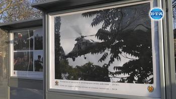 """Министър Красимир Каракачанов откри фотоизложбата """"15 години България в НАТО"""""""