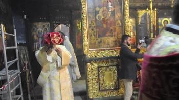 На Задушница Негово Светейшество Патриарх Неофит отслужи панихида в Троянската света обител, почитайки паметта на Патриарх Максим