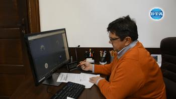 """Във видинското училище """"Цар Симеон Велики"""" провеждат и педагогическите съвети онлайн"""