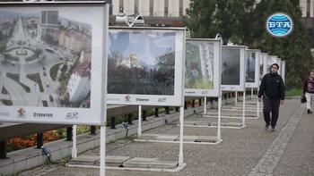 """Изложба """"Виж София - където строителството среща историята с бъдещето"""""""