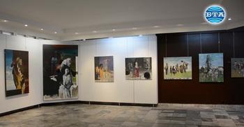 Възпоменателна изложба в памет на проф. Теофан Сокеров показва някои от последните му творби