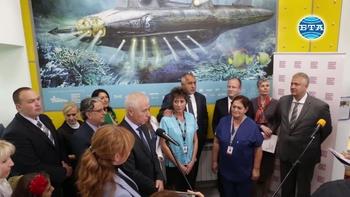 """Откриха обновеното детско отделение в """"Пирогов"""""""