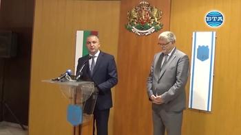 Посланик Херберт Салбер посети Варна и се срещна с кмета Иван Портних