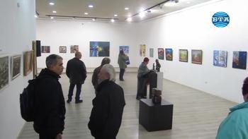 Коледна изложба на плевенските художници