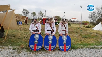 """Четвърти средновековен събор """"Помни славата"""" на крепостта """"Туида"""" край Сливен"""
