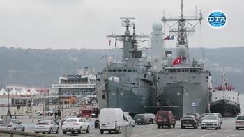 Втората постоянна военноморска група патрулни кораби на НАТО е на посещение във Варна