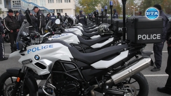 СДВР получи нови мотоциклети