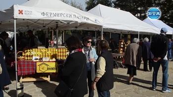 Фермерски пазар в Добрич