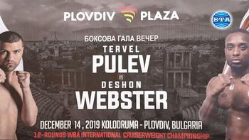 Тервел Пулев се оказа с три килограма по-тежък от съперника си Дешон Уебстър