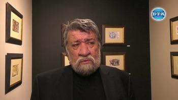 """Вежди Рашидов подреди акварелна изложба в столичната галерия """"Стил 2"""""""