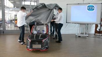 Бургаски ученици създадоха електромобил, с който ще участват в състезание във Франция