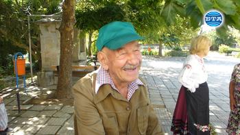 За тайната на дълголетието на Марин Шидеров – първият столетник в Старо село